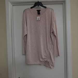 Design History Size XL Pink Pullover Sweater NWT